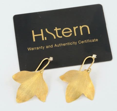 Designer 18Ct Gold And Diamond Earrings From Hera Collection By H.Stern